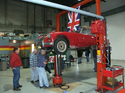 MGA on hoist